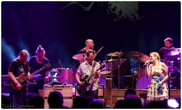 Luther Dickinson with Tedeschi Trucks Band