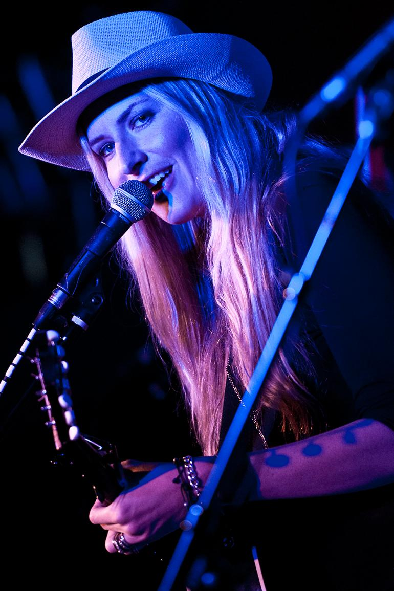 Holly Williams at Americana Music Festival, Nashville, 2013