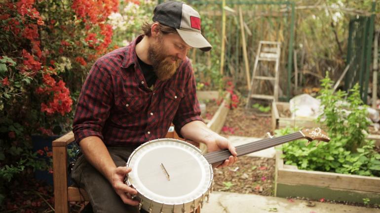 2 Guys Named Ben: About Ben's Banjo